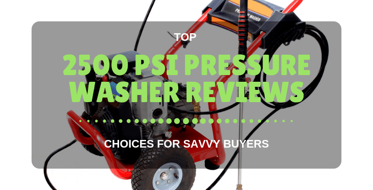 2500 PSI Pressure Washer reviews