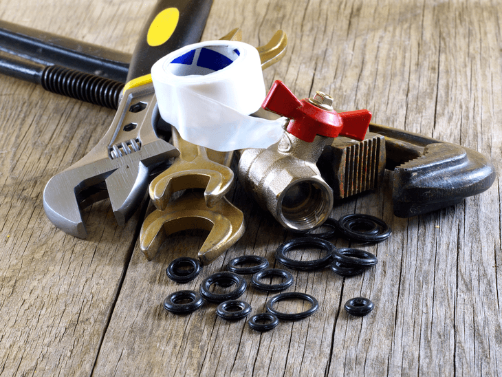 When replacing the o ring, using the right plumbing tools is very important