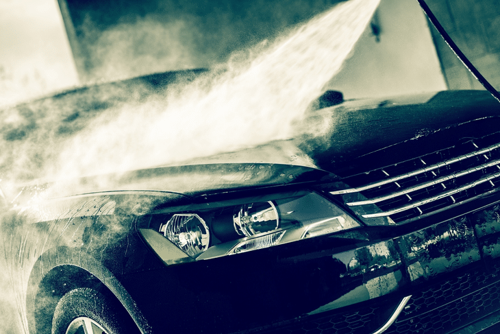 how a car jet wash cleans your car