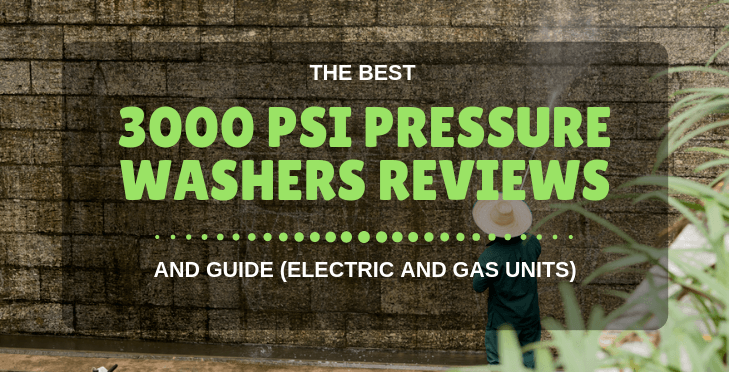 3000 PSI Pressure Washer (Reviews)