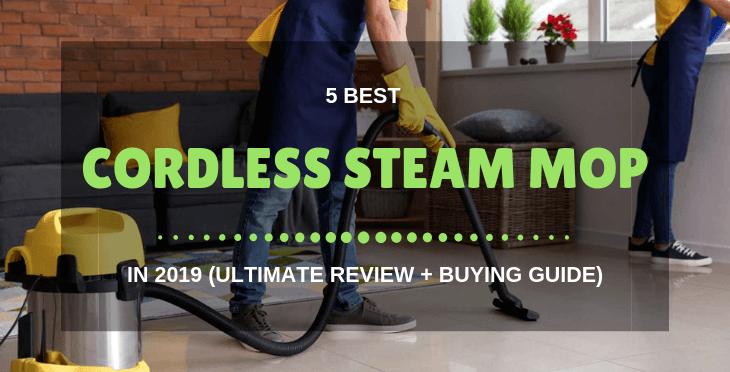 best cordless steam mop