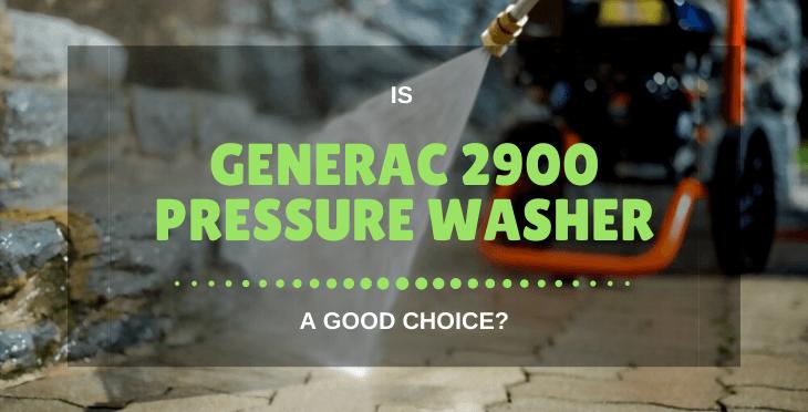 Generac 2900 Pressure Washer
